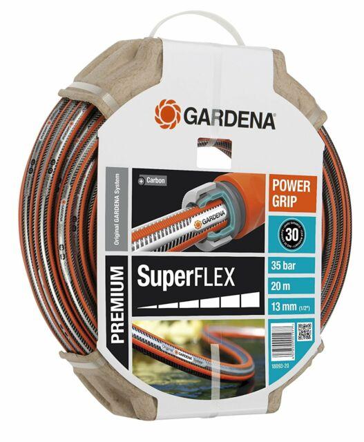 """Gardena SuperFLEX Schlauch 1//2/"""" 20m Wasserschlauch Blumen Pflanzen Garten NEU"""