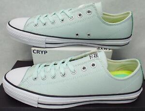 3299659861f9d3 New Mens 11 Converse Chuck Taylor CTAS Pro OX Fiberglass Green Shoes ...