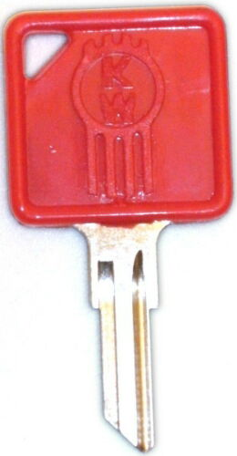 Blank Kenworth Key RED