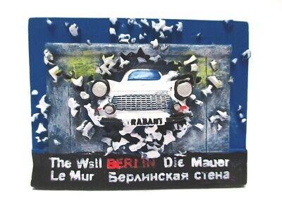Berlin Magnet Poly Souvenir Germany Die Berliner Mauer Mit Trabi