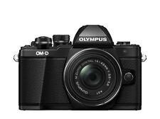 OLYMPUS OM-D E-M10 II + 3,5-5,6 / 14-42mm R II schwarz / EM10Mark2 incl.16GB SD