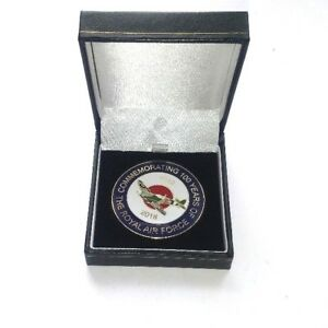 100-Years-OF-The-RAF-Royal-Air-Force-Commemorative-Collectors-Coin-Gift-Box
