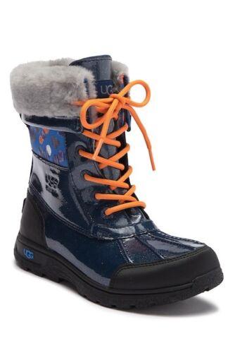 Butte II Waterproof Genuine Shearling Lined Leather Boot Little Kid /& Big Kid