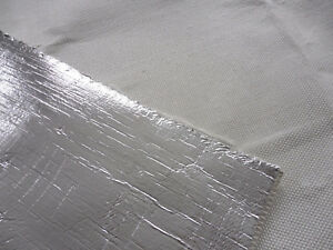 0,5 m Hitzeschutzschlauch ID20 mm Kettelnaht 800°C Kabelschutz Thermo Schlauch