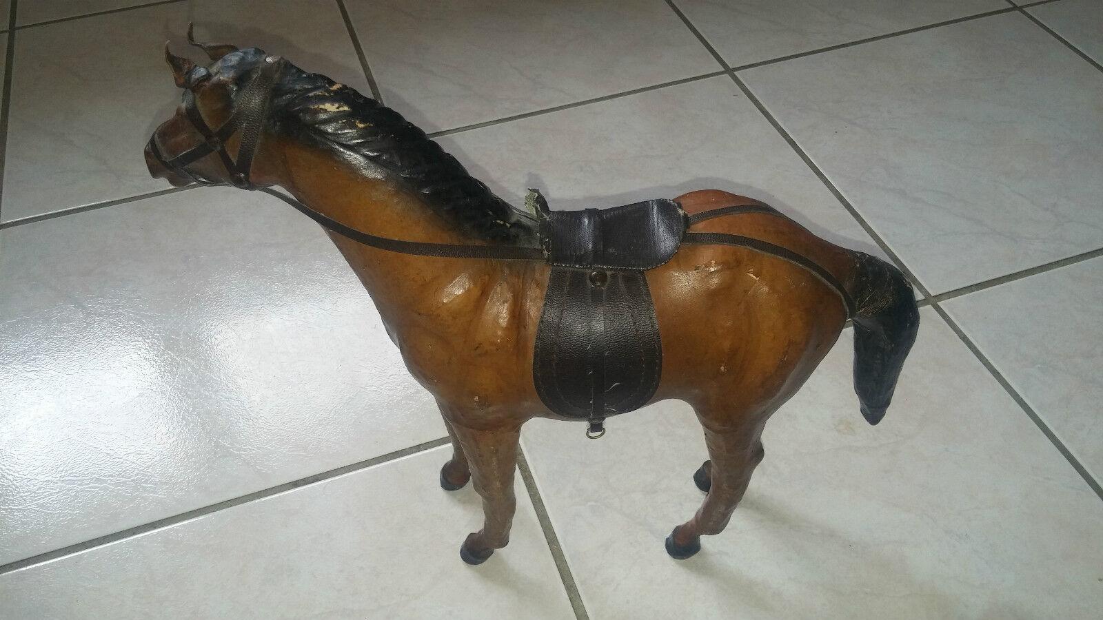 Figürchen Aus Harz Vintage     Pferd   Sehr Guter Zustand 9bbc64