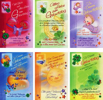 100 Glückwunschkarten zum Geburtstag Kinder 51-5802 Geburtstagskarte Grußkarte