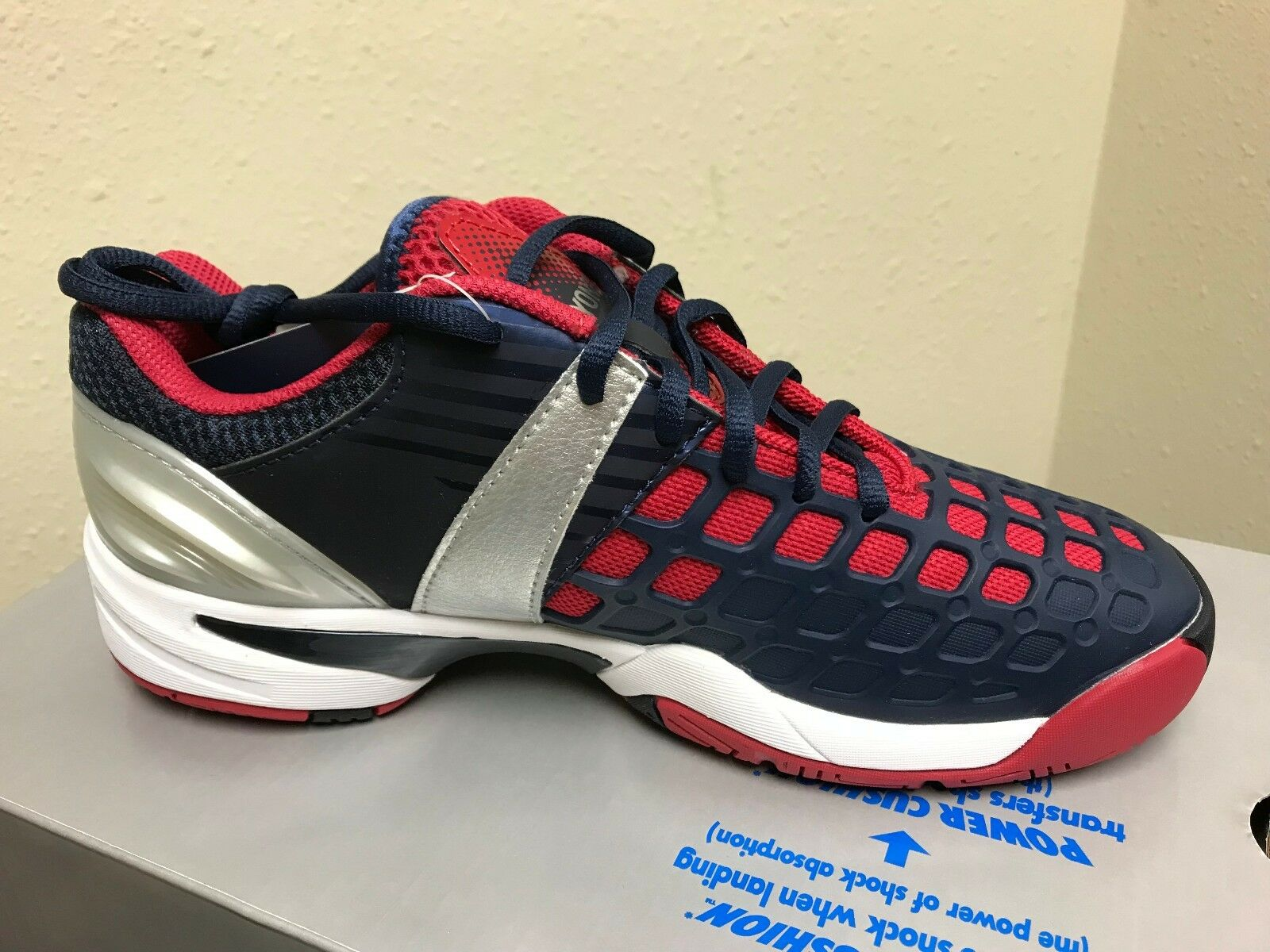 Yonex Para hombre Sht-Zapatos Tenis Cojín de Alimentación Proex Azul Marino