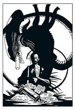 MIKE MIGNOLA ALIENS SALVATION LIMITED OVERSIZED HARDCOVER HC EXCLUSIVE B&W OOP
