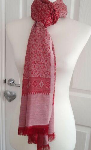 Popular BURSA silk patterned large Scarf Hijab Wrap casual//work dbl sided colour