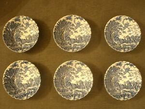 Bellissimo-SET-SERVITO-Johnson-Brothers-COTSWOLD-Made-in-England-9Piattini-d13cm