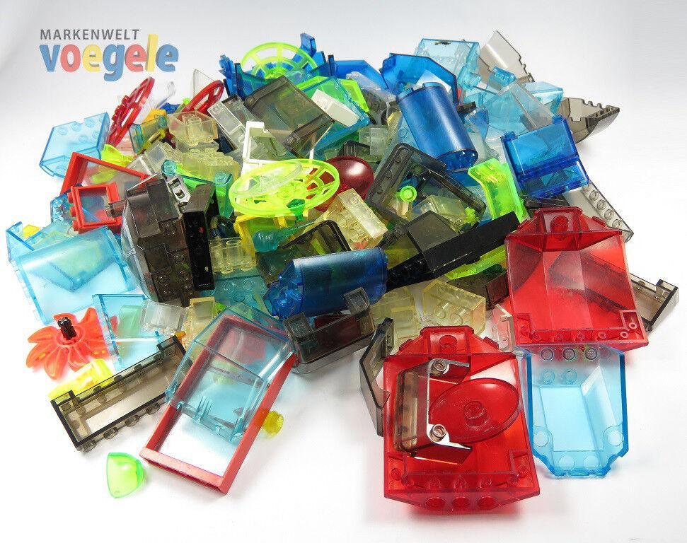 LEGO ® Poste Neon Vitres Fenêtre Incurvé vaisseau vitres Space Station