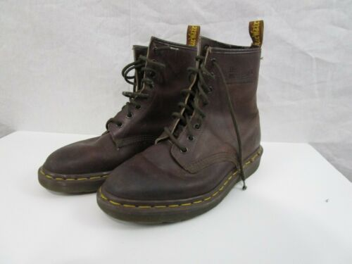 Womens Doc Martins Brown Boots Made In England Siz