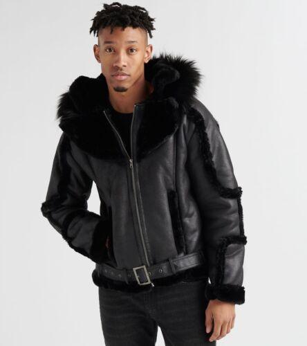 motorista chaqueta de Shabazz talla Brothers grande qwPnx5tBvx