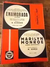 """SPARTITO CONSOLINI/VILLA """"ENAMORADA"""" M.MERENDEZ """"MARYLYN MONROE"""""""