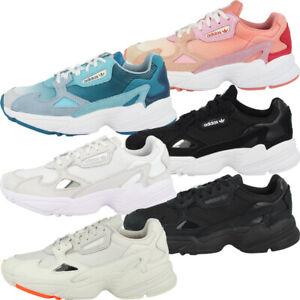 Détails sur Adidas Falcon WOMEN Chaussures Femmes Originals Loisirs Sport Sneaker Chaussure Lacée afficher le titre d'origine