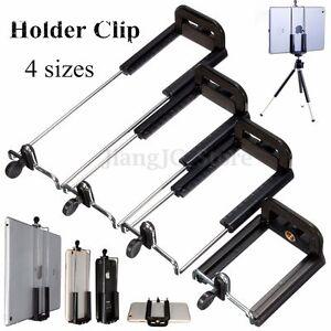 Camera-Stand-Clip-Bracket-Holder-Monopod-Tripod-Mount-Adapter-for-Phones-amp-Tablets