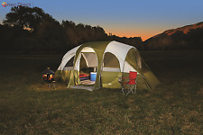 Northwest Territory 18u0027 x 10u0027 Eagle River Tent 8 Person w/Quick C& & Northwest Territory Big Sky Lodge 16 X 11 Tent 10 Person Brown ...