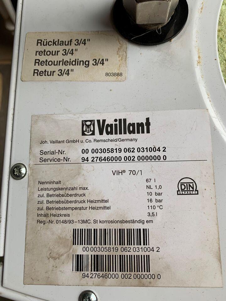 Gasfyr, Vaillant