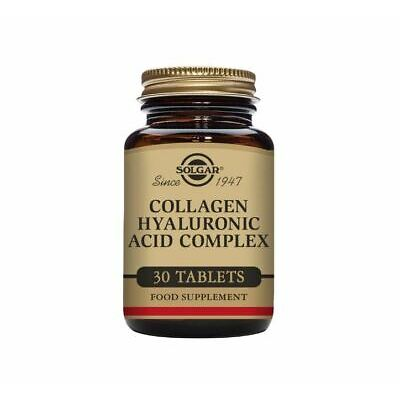 Solgar Collagen Hyaluronic Acid Complex Tablets - Pack of 30
