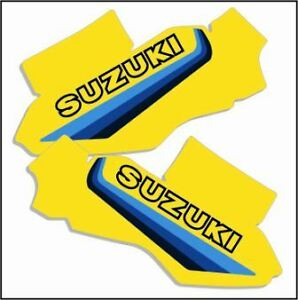 1982 Suzuki RM 250 Side Panel Decals Full Cover