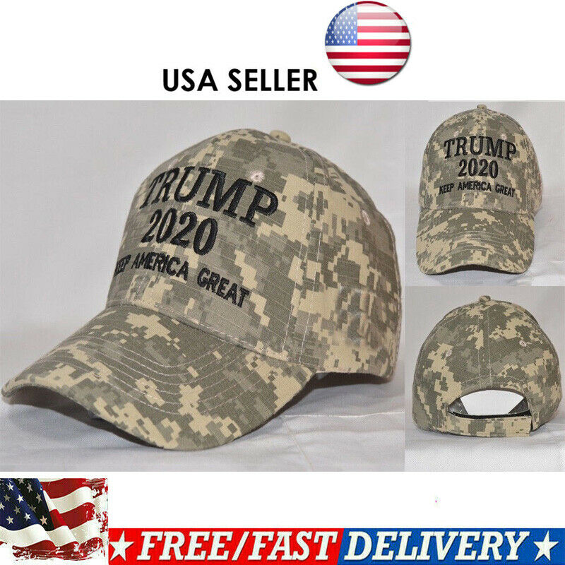 Trump 2020 Hat Digital Camo Keep America Great Hat Plus MAGA Sock And Others!