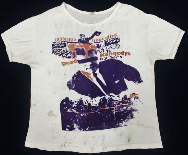 VINTAGE 70's 1979 DEAD KENNEDYS PUNK ROCK TOUR CONCERT PROMO T-SHIRT