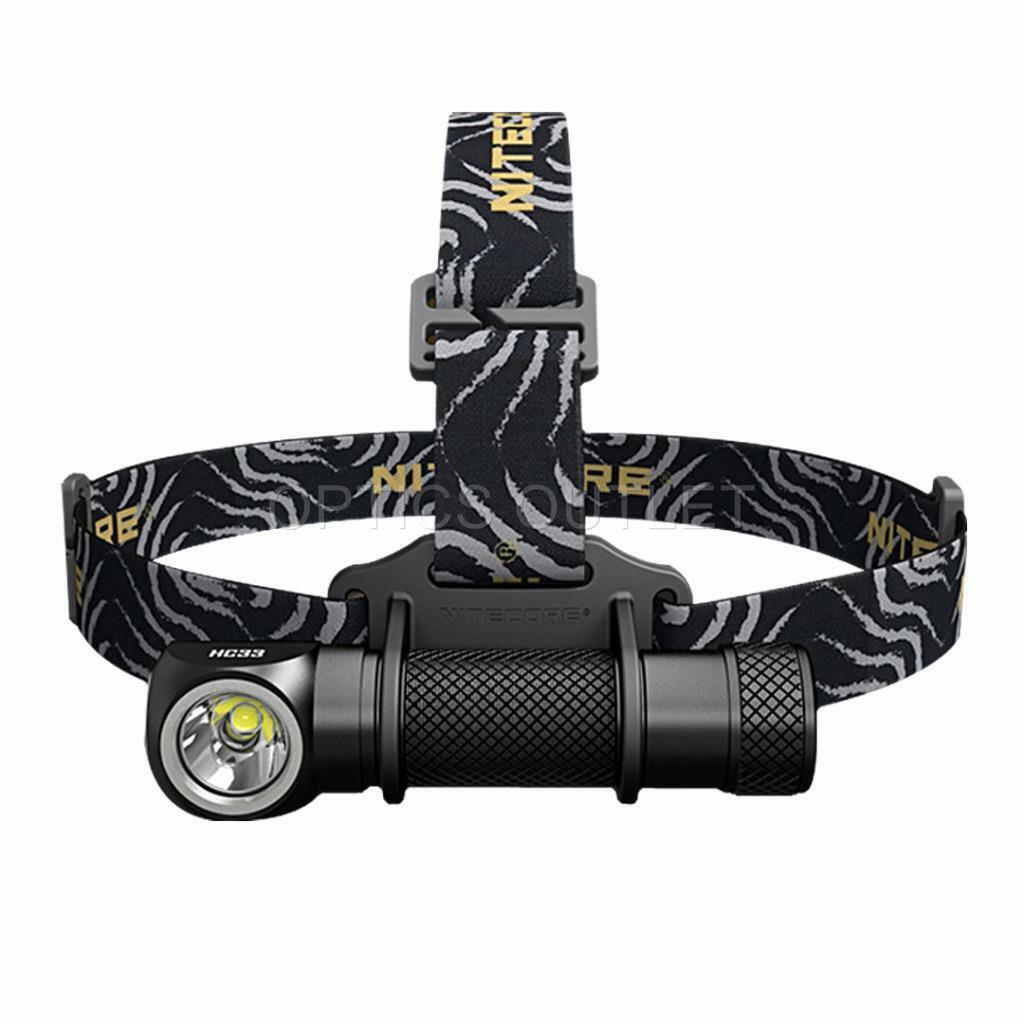 NITECORE HC33 1800 Lumen High Performance Versatile L-Shaped LED Headlamp