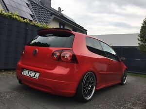 golf v 5 gti rear spoiler r32 roof spoiler spoiler wings ed30 spoiler lip wing ebay. Black Bedroom Furniture Sets. Home Design Ideas