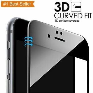 Premium-Lightweight-3D-Tempered-Glass-Screen-Protector-Black-for-iPhone-7-4-7-034