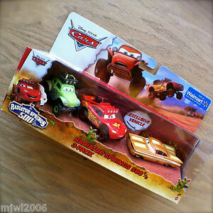 Disney-PIXAR-Cars-The-RADIATOR-SPRINGS-500-1-2-STANLEY-DAYS-RAMONE-diecast-3PACK