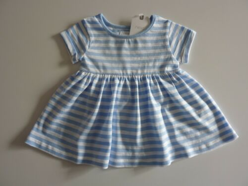 Next Gorgeous Poco Chicas Vestido Azul a Rayas Nuevo Con Etiquetas