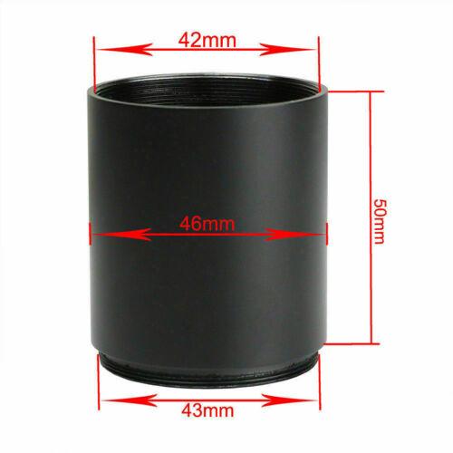 Portata ottica Parasole Sole Ombra TUBO 32//40//50mm LENTE dell/'obiettivo ambito s