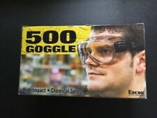Safety 500 Goggle New In Box High Impact Chemical Splash