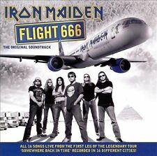 Flight 666 [Original Soundtrack] by Iron Maiden (2009, 2 × CD, Album)-SHIPS FREE