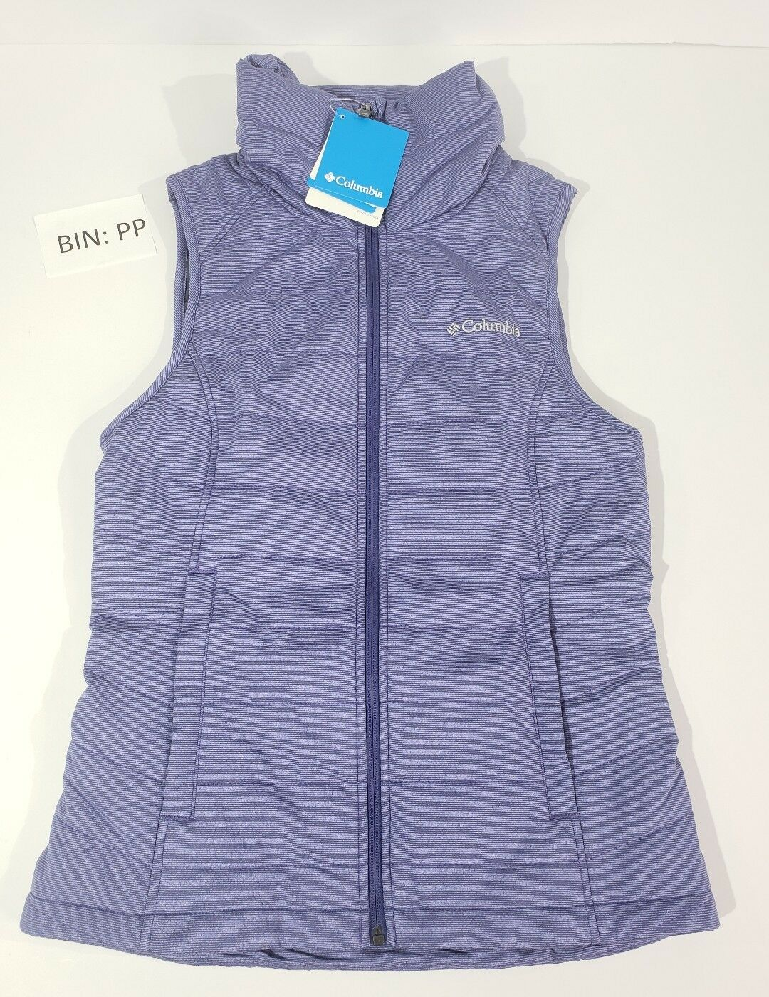 NWT COLUMBIA Sz Extra Small Dandi Dandi Dandi Camp Insulated Quilted Women's Vest 3dd126