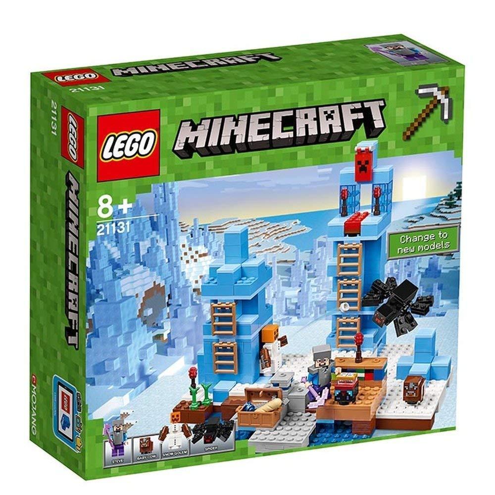 Lego 21131 Mineccraft Towers från Ice Spikes Nya paket Nya förslutna