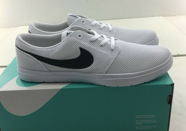 Size 9.5 - Nike SB Portmore 2 Ultralight White Black Track Red for ...