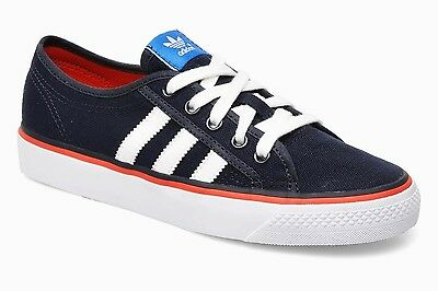 loco A merced de fantasma  ADIDAS ORIGINALS NIZZA LO JUNIOR / OLDER BOYS MENS TRAINERS UK SIZE 3.5 -  6.5 | eBay