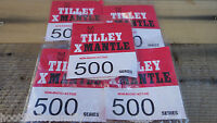 10 X Genuine Tilley Lamp Mantle Mantles 164x 500 Candle Nra Stormlight Tilly