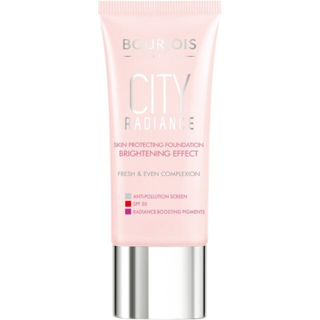 Bourjois City Radiance Foundation Bright Effect Skin Protection Hale Clair 30ml