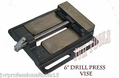 """6"""" DRILL PRESS VISE Pipe Clamping Holding 5 Inch Throat Open Workbench Drill NEW"""