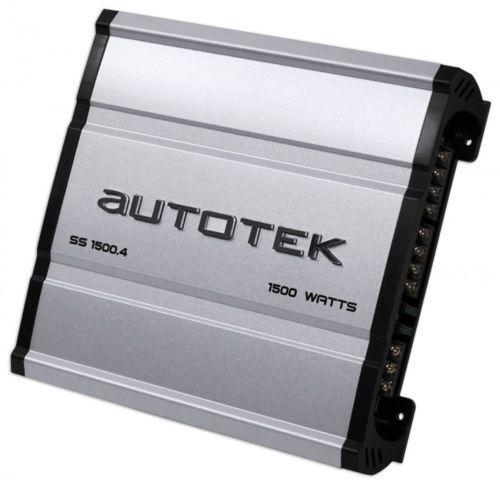 Autotek Ss1500.4 Super Sport Serie 1,500 - Vatio 4-channel Clase Ab Y Gran Poder