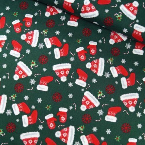 100/% Algodón Tela poco perdidos Santa ropa de navidad de 135 Cm de Ancho