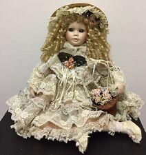 Seymour Mann Porcelain Collector Doll by artist Helene