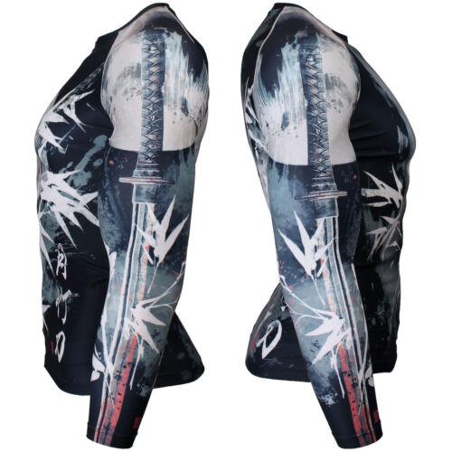 Skin Rash guard Tight Compression Under Base layer MMA Gym FX-134K BTOPERFORM