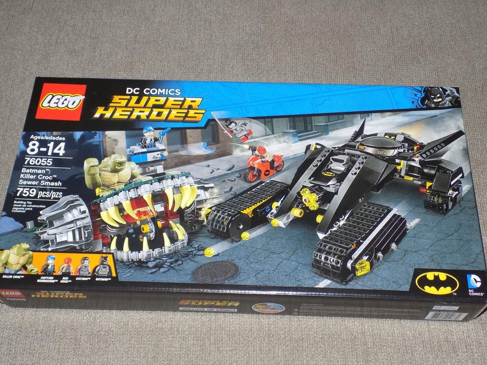Dc Smash76055Killer Sewer Batman Comics Super Heroes Croc Lego 6bgyvI7Yf