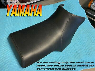 Year Code:G 1995 Yamaha YFM350FX Wolverine Handmade Black Marine Grade ATV Seat Cover