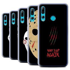 Gel-TPU-Case-for-Huawei-P-Smart-2019-Honor-20-Lite-Horror-Movie-Art