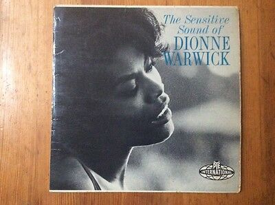 THE SENSITIVE SOUND OF DIONNE WARWICK VINYL LP NPL 28055