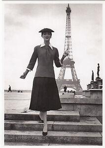 Kunstkarte/ Postcard: Rouchon und Ambler -  Pariser Mode